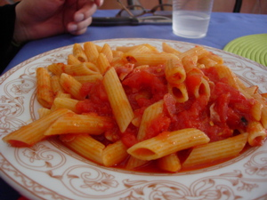 Penne all\'arrabiata