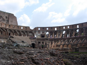 Coliseo por dentro