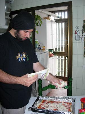 Echando el queso