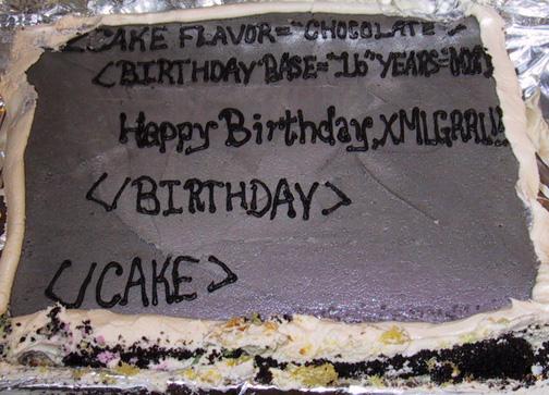 tarta de cumpleaños friki